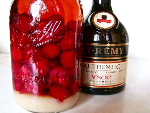 Fresh Raspberry Brandy