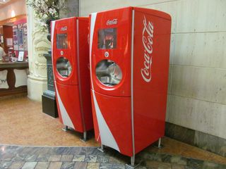 coca cola machines